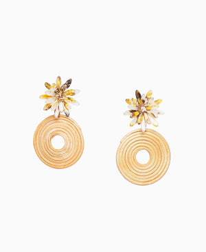 Phoebe Raffia Earrings