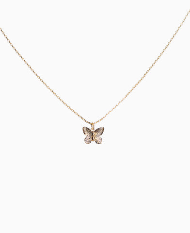 Marie Butterfly Necklace