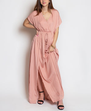Margot Rose Overlap Dress