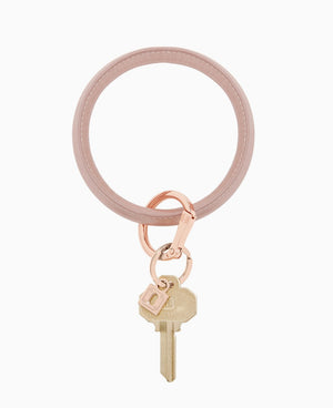 Rose Gold O Key Ring