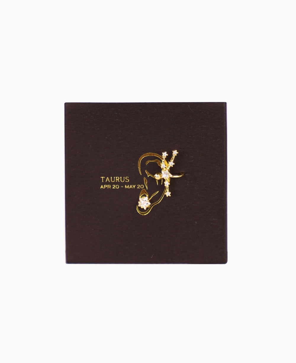 Taurus Cuff Earrings