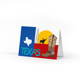 Texas Note Card Box