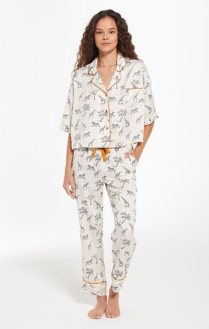 Jolie Safari PJ Set