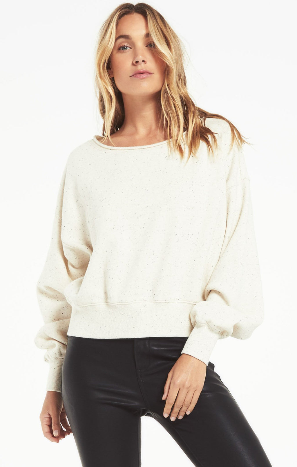 Allied Speckled Sweat shirt