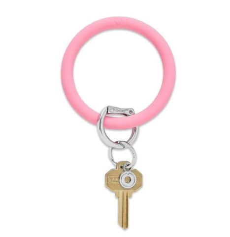 Cotton Candy O Key Ring