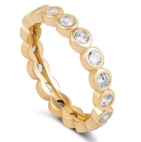Celeste Eternity Ring