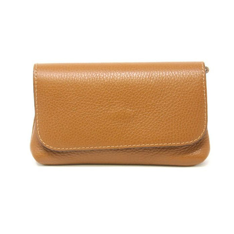 Mini Leather Bag-Tan