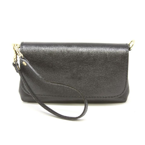 Mini Leather Bag-Black