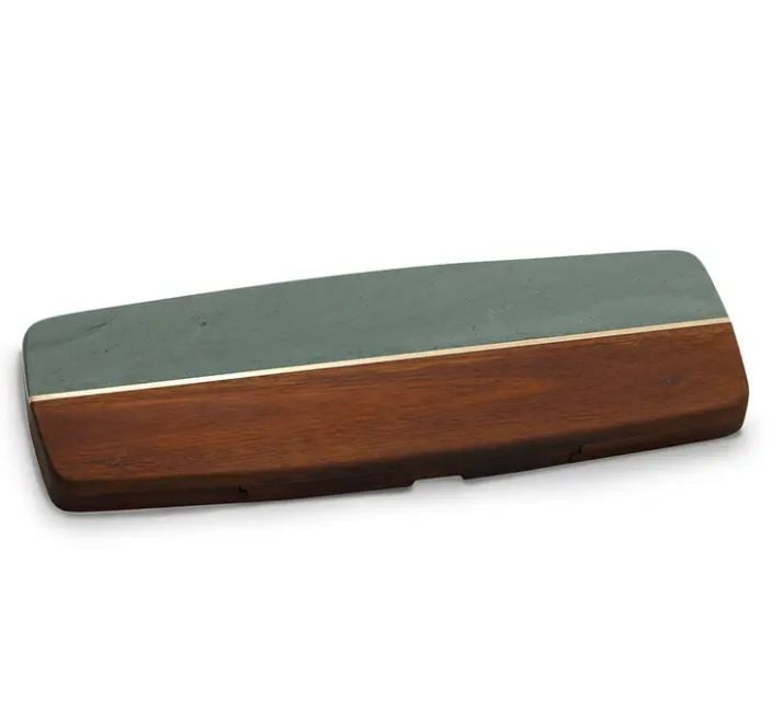 Green LG Rectangle Marble Wood w/tools