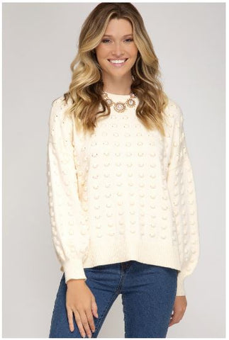 Balloon Tunic Sweater