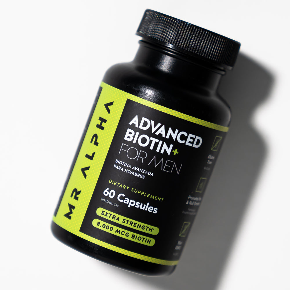 Advanced Biotin+ Hair, Skin & Nails Supplement