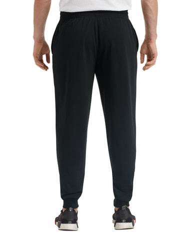 Black Terry Joggers