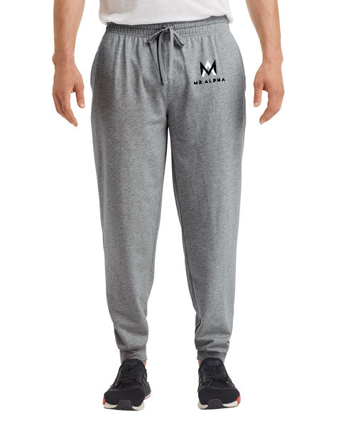Dark Grey Terry Joggers
