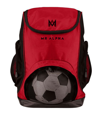 Sports Backpack Red
