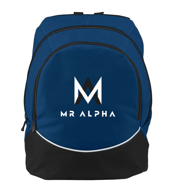 Two Compartment Navy Backpack