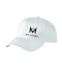 Six Panel Baseball Cap White
