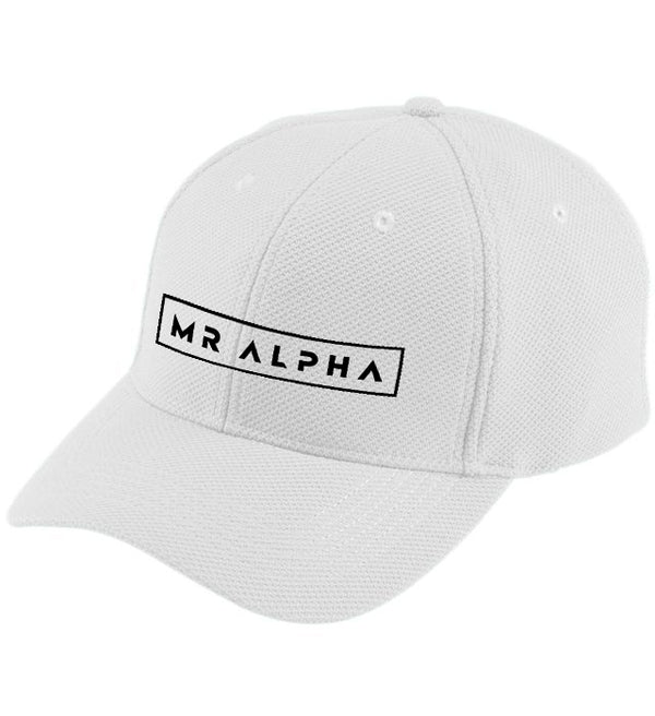 White Moisture Wicking Cap