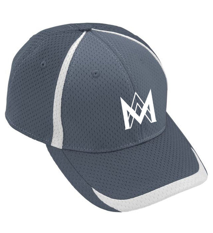Athletic Mesh Baseball Cap - Grey