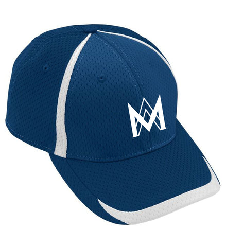 Athletic Mesh Baseball Cap - Navy