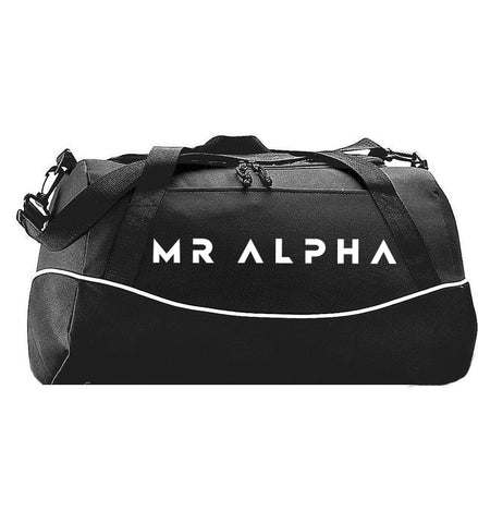 Sports Duffle Bag - Black