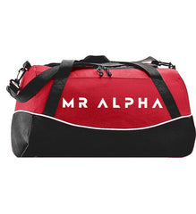 Sports Duffle Bag Red/Black