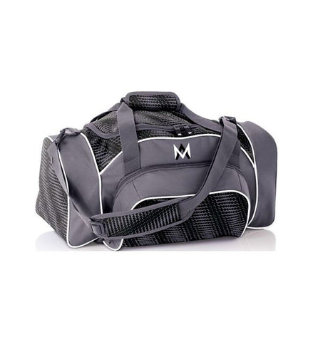 Grey Travel Duffle Bag