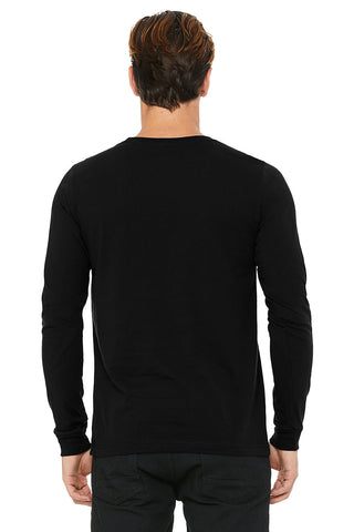 Black Crew Neck Long Sleeve Shirt