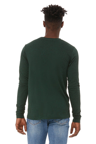 Forest Green Crew Neck Long Sleeve Shirt