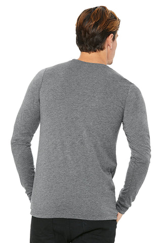 Heather Grey Crew Neck Long Sleeve Shirt