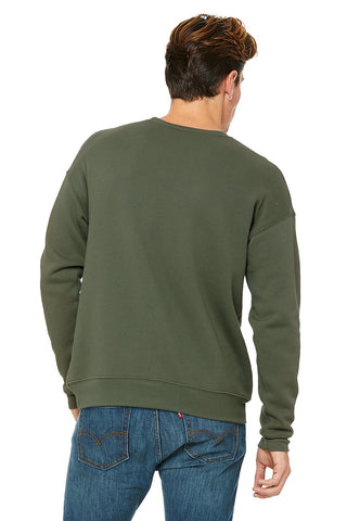 Green Fleece Sweatshirt