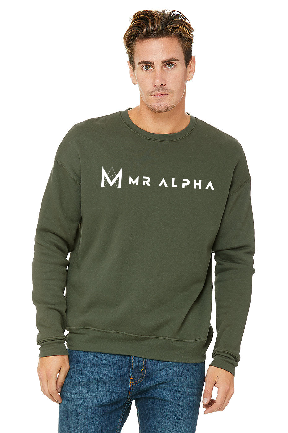 Fleece Sweatshirt - Green