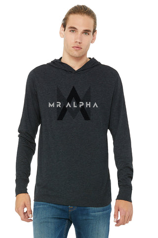 Charcoal Grey Long Sleeve Hoodie
