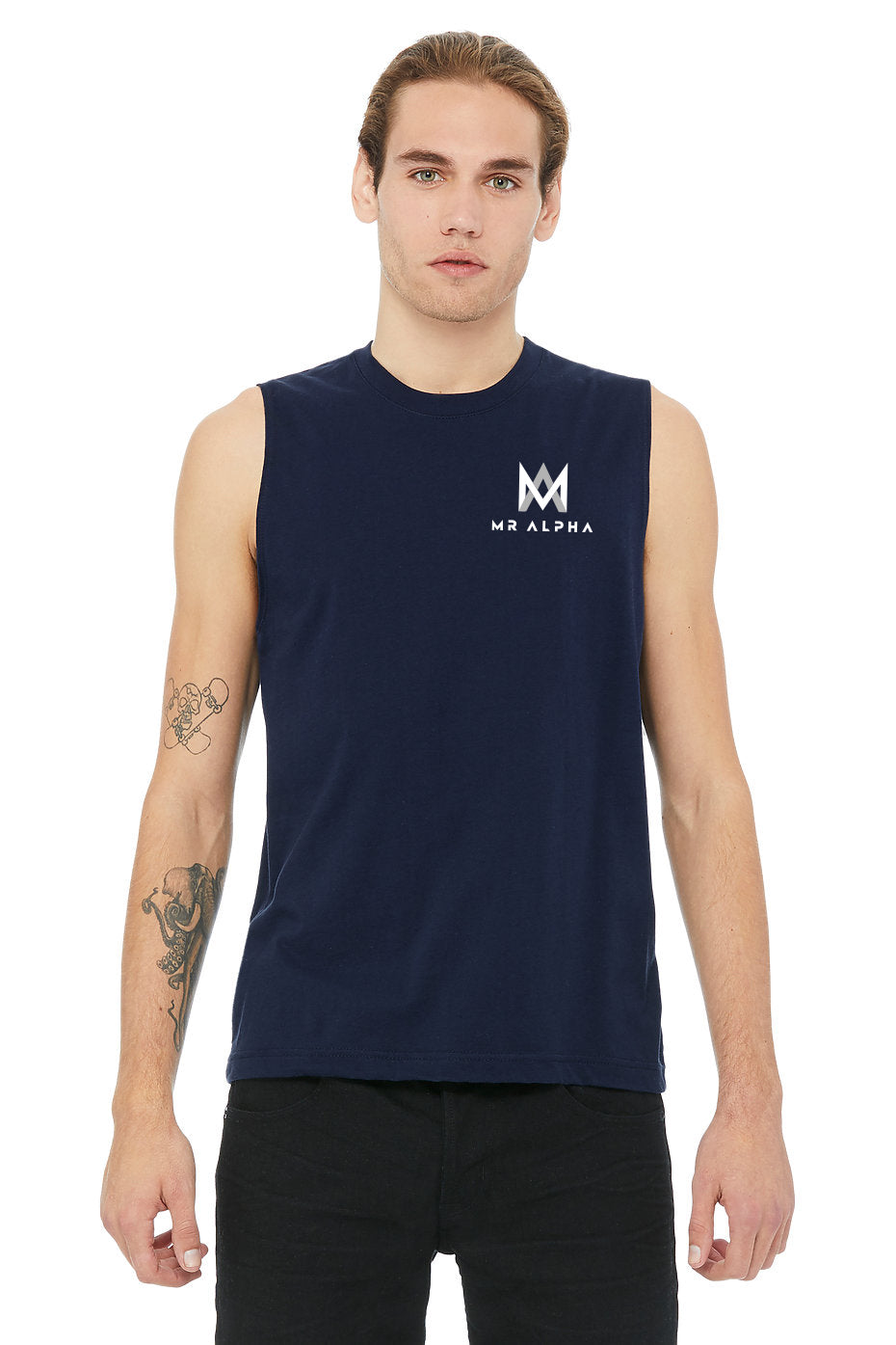 Muscle Shirt - Navy
