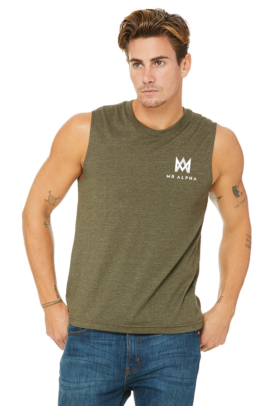 Muscle Shirt - Olive