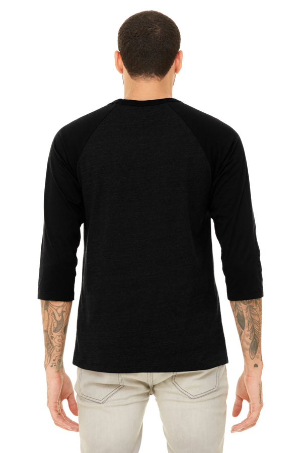 Black & Grey Baseball Raglan