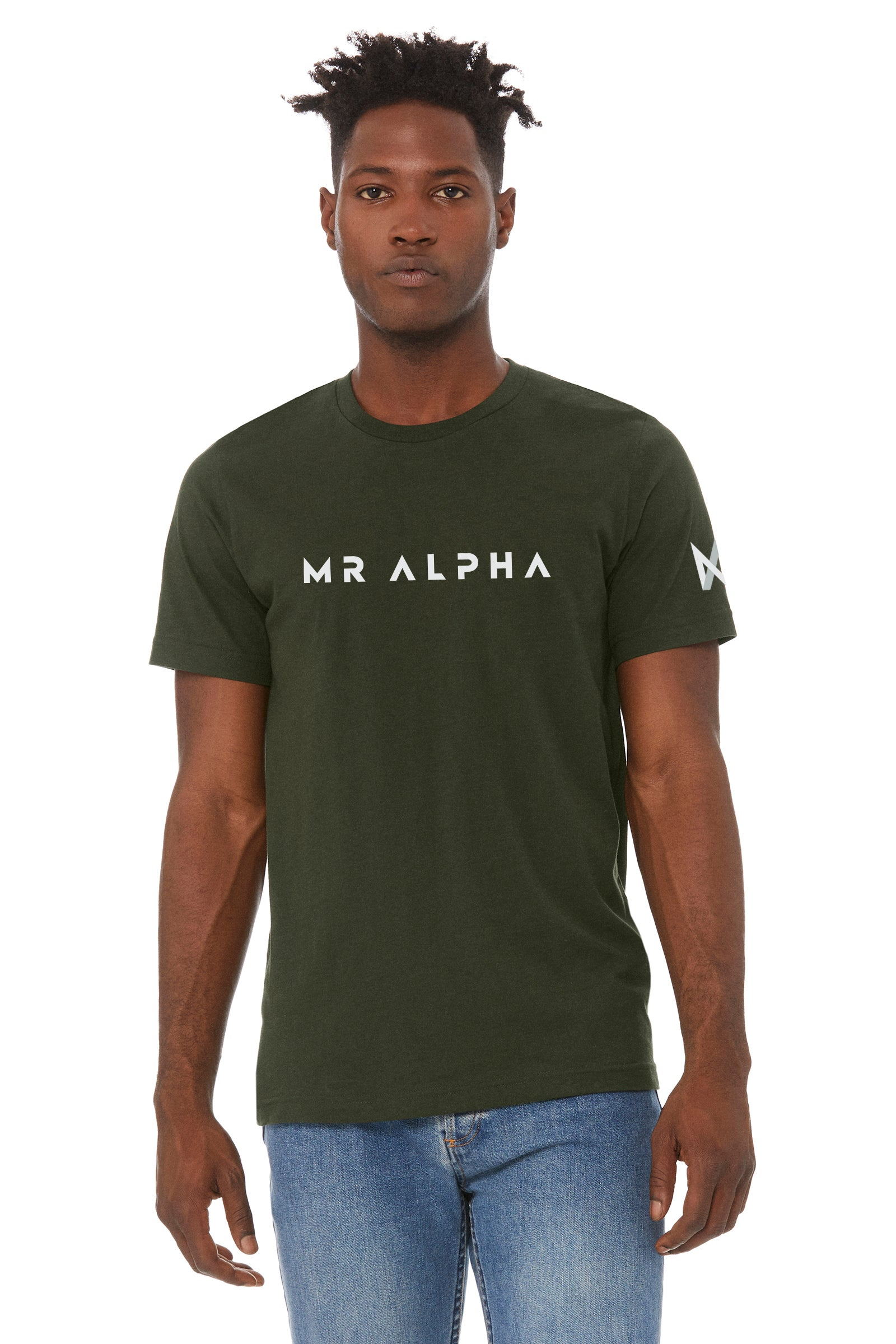 Olive Jersey Tee