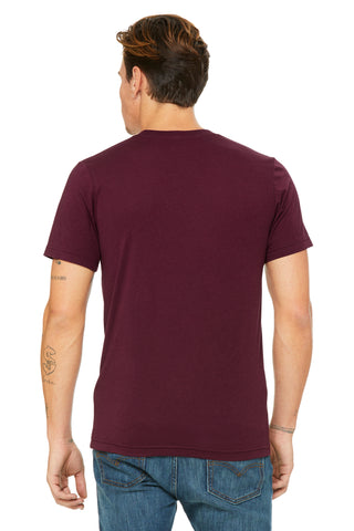 Maroon Triblend Short Sleeve Tee