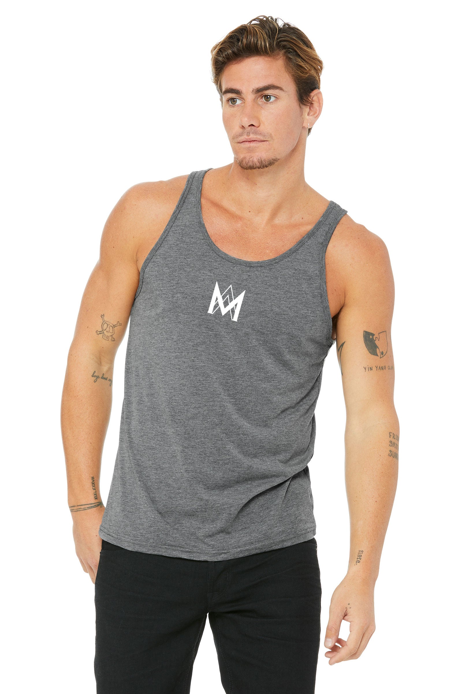 Cotton Tank Top - Grey