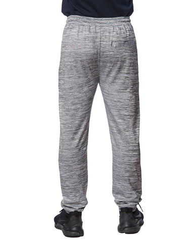 Zipper Pockets Grey Joggers