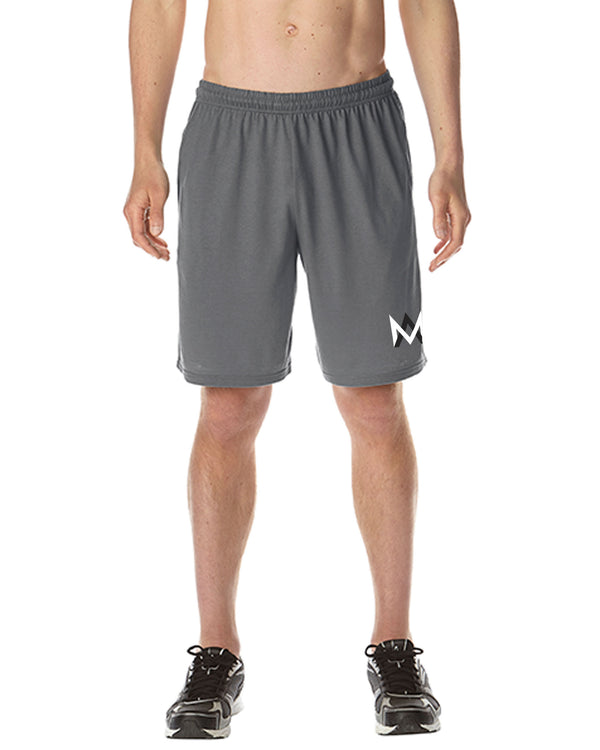 Grey Athletic Shorts