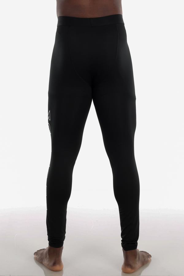 Ankle-Length Compression Tights Black