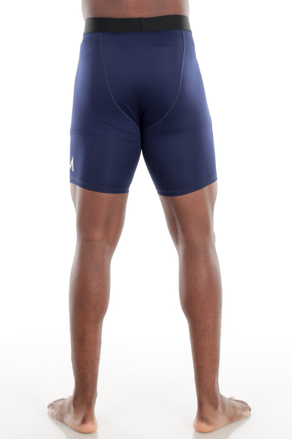 Navy Compression Shorts