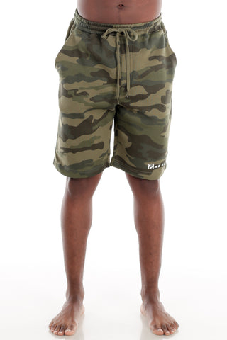 Camo Fleece Shorts