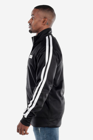 Full Zip Black Track Jacket