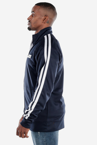 Full Zip Navy Track Jacket