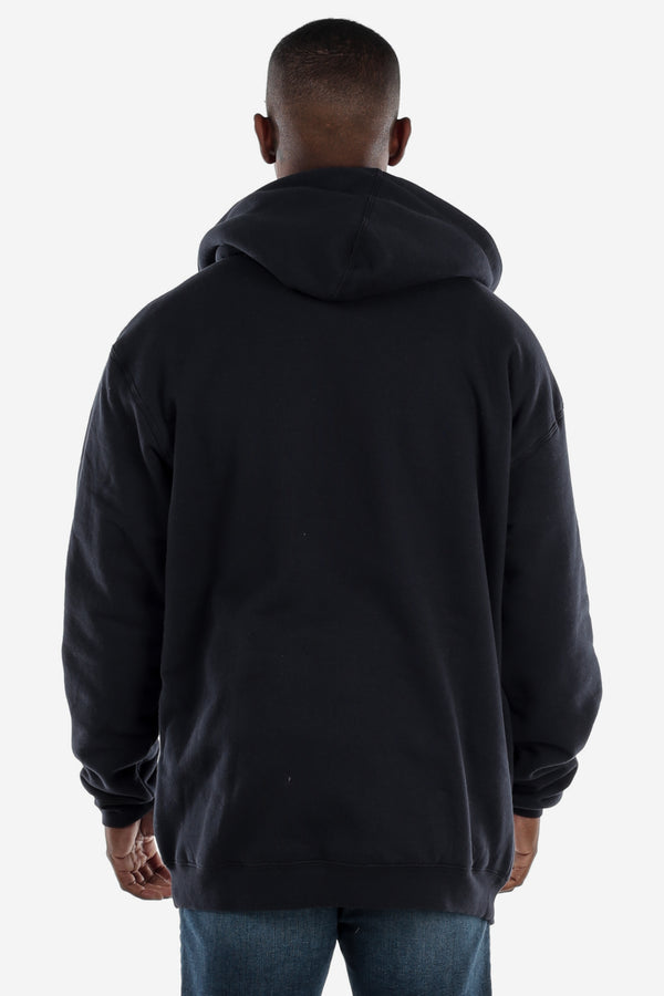 Sherpa Lined Navy Hooded Jacket