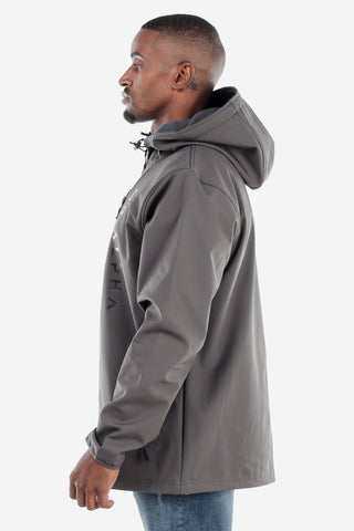 Fleece Lined Softshell Jacket - Grey