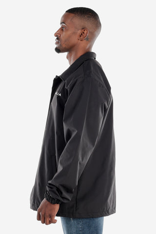 Black Coach's Windbreaker Jacket