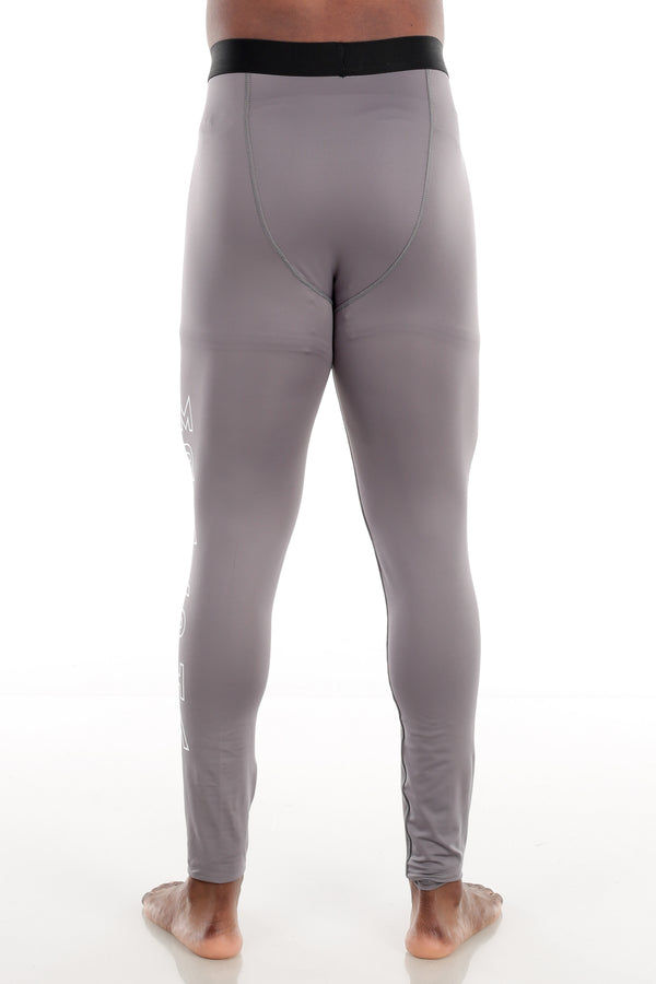 Ankle-Length Compression Tights Grey