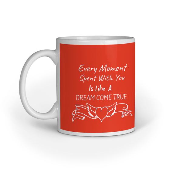 Valentine Special Coffee Mug - Red (11oz/330ml)